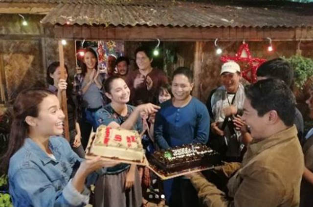 'Ang Probinsyano' cast pull off an advance birthday surprise for Ryza Cenon