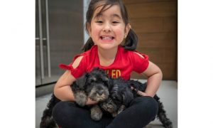 LOOK: Scarlet Snow receives two adorable puppies from mom Vicki Belo