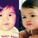 Vic Sotto's daughters Tali and Paulina are like 'pinagbiyak na bunga' in their baby photos