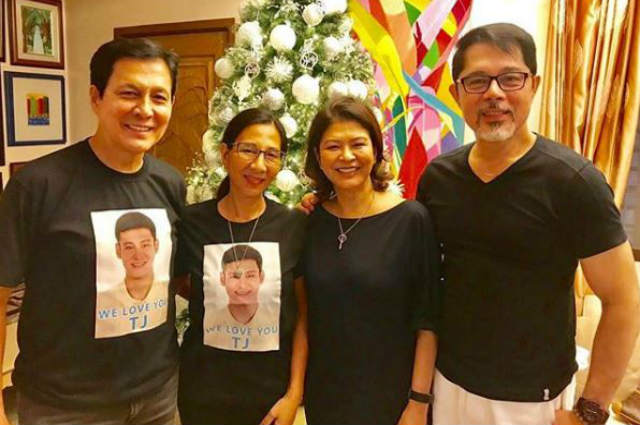 """Tirso Cruz III touched by Christopher de Leon's Christmas visit: """"You my friend are a rare find"""""""