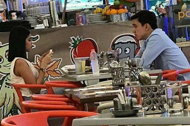 "Maine Mendoza and Arjo Atayde spotted by Maichard fan on a date: ""There is really something between them"""