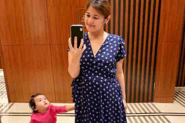 LOOK: Camille Prats shows off her baby bump