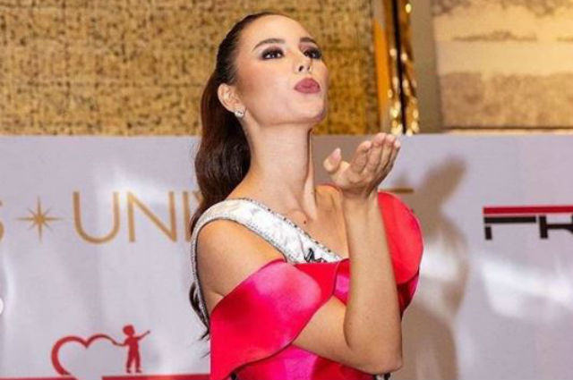 Catriona Gray bids farewell to PH as she flies to her new home in NYC