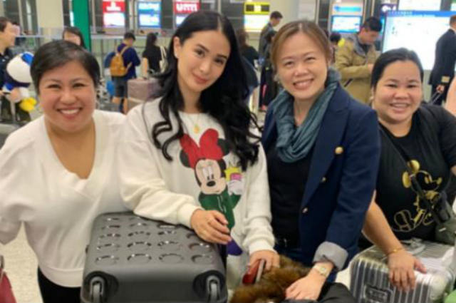 "Netizens gush over Heart Evangelista massive luggage to China: ""Uuwi ka pa ba ng Pinas?"""