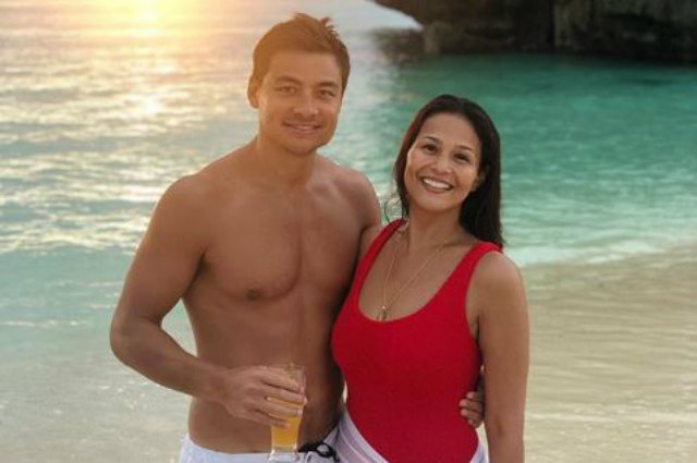 Newly weds Iza Calzado and Ben Wintle welcome 2019 in Boracay