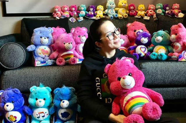 Kris Aquino gives thanks to celebrity friends by sending them Care Bears items