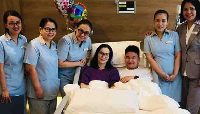Kris Aquino nagpasalamat sa kanyang Pinoy medical team
