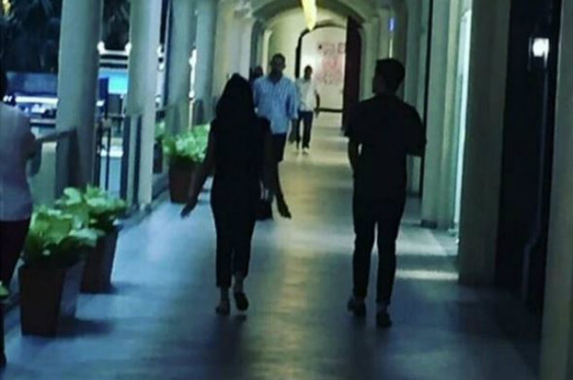 Maine Mendoza and Arjo Atayde spotted on a date at a mall