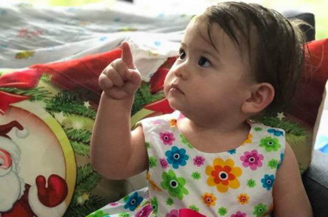 WATCH: Baby Malia can now identify colors before turning 1 year old