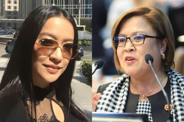 """Leila De Lima slams Mocha Uson over claim about cellphone in her quarters: """"Queen of Fake News"""""""