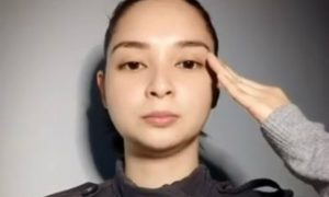 WATCH: Ryza Cenon explains left hand salute in her Instagram video