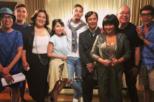 Tony Labrusca works on upcoming film amid possible deportation