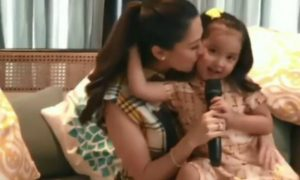 "Zia Dantes gives sweet message to mom Marian Rivera: ""I want you to be happy"""