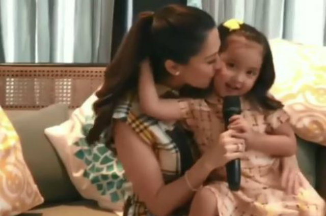 """Zia Dantes gives sweet message to mom Marian Rivera: """"I want you to be happy"""""""