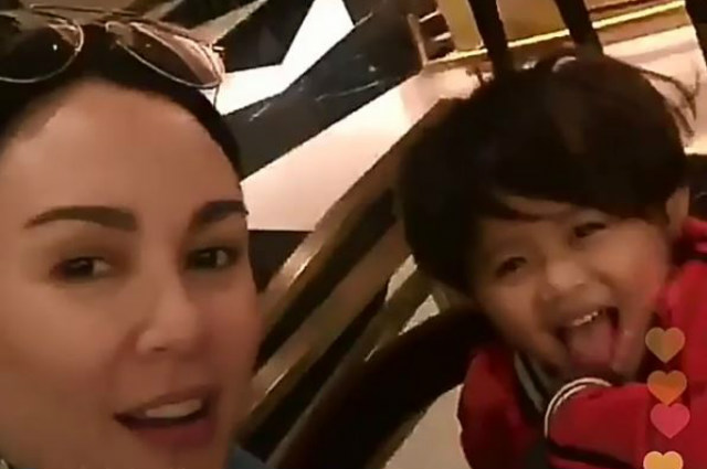 WATCH: Gretchen Barretto spends sweet time with Claudine Barretto's daughter Quia