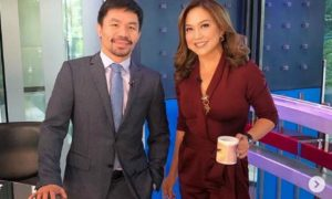 "Karen Davila airs side on interview with Manny Pacquiao: ""Its asked of all senatorial candidates"""