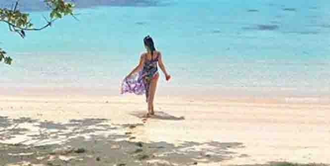 KC Concepcion and Pierre celebrate early Valentine's Day in Palawan