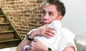 Korina Sanchez shows how Mar Roxas is a hands-on dad to their twin babies