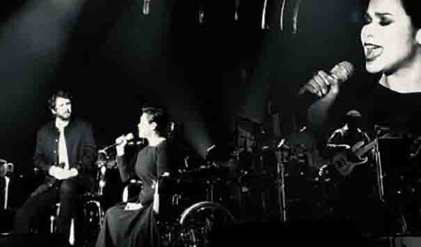 WATCH:  Lea Salonga sings 'The Prayer' while in a wheelchair