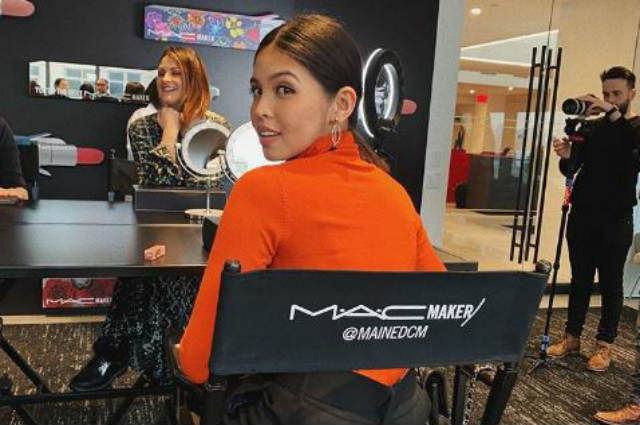 Maine Mendoza flies to New York for another collaboration with MAC