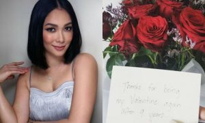 Maja Salvador receives flowers from her 'Valentine' 9 years ago