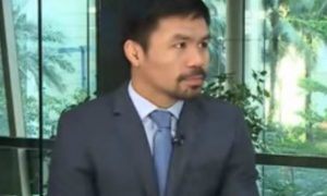 "Manny Pacquiao releases statement on interview with Karen Davila: ""I was never offended"""