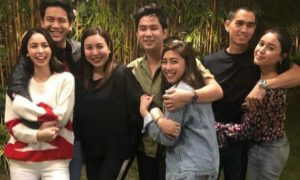 LOOK: Marjorie Barretto bonds with her daughters' boyfriends