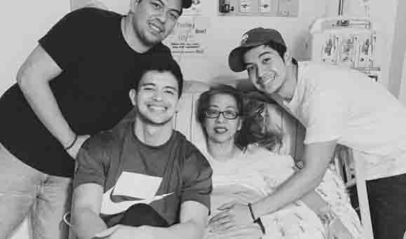 Rayver and Rodjun Cruz's mother passes away