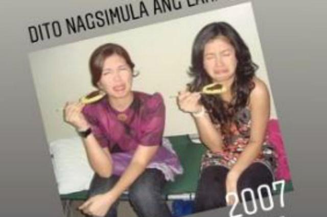 """Angel Locsin shares throwback photo with Dimples Romana: """"Dito nagsimula ang lahat"""""""