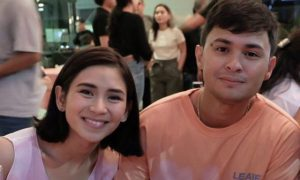 WATCH: Matteo Guidicelli shares sweet moment with Sarah Geronimo at his birthday party