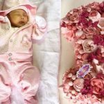Rochelle Pangilinan and Arthur Solinap mark baby Shiloh's 1st month
