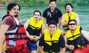 "LOOK: Coco Martin go on a vacation with ""Ang Probinsyano"" boys"