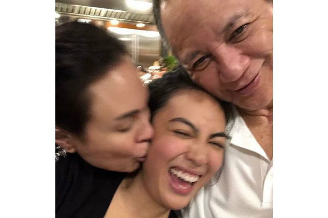 LOOK: Gretchen Barretto posts happy family photo with Tonyboy Cojuangco and daughter Dominique