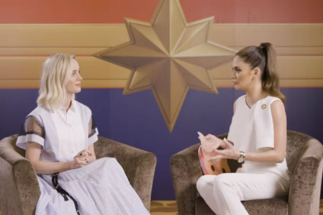 WATCH: Pia Wurtzbach meets 'Captain Marvel' star Brie Larson