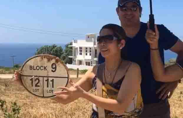 Pokwang ipinakita ang kanilang bagong beach property investment