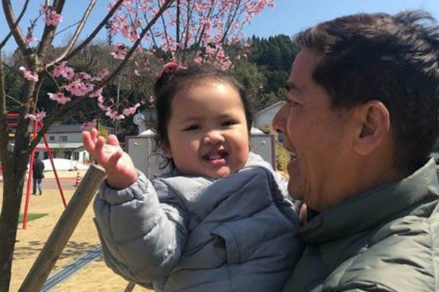 LOOK: Vic Sotto and baby Tali's sweet bonding moments in Japan