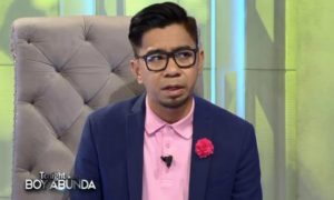 Teddy Corpuz says his comment about cursing was just 'tied up' to Juan Karlos Labajo's issue