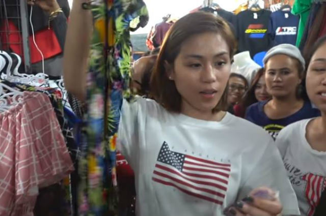 WATCH: Toni Gonzaga goes shopping in Taytay tiangge