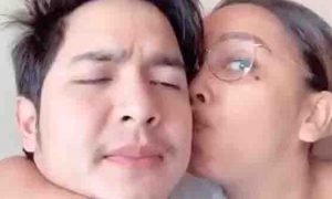 Video showing Kakai Bautista kissing Alden Richards goes viral