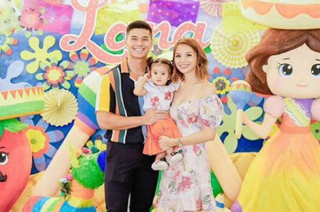 JC De Vera's daughter Lana celebrates 1st birthday with a Mexican fiesta-themed party