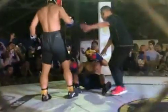 WATCH: Jimuel Pacquiao knocks out boxing opponent; tagged by netizens as 'pacboy'