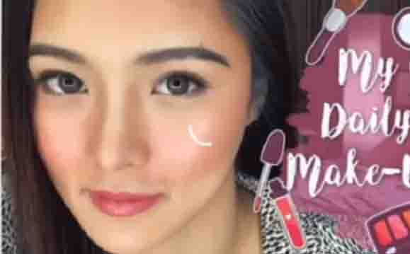 """WATCH:  Kim Chiu on her 'nose job' issue:  """"no, This is from my mother and father"""""""
