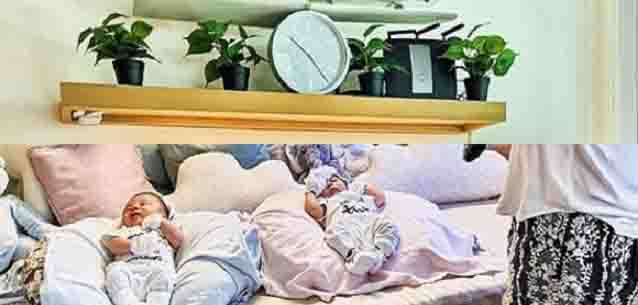 Netizens express concern over things on top of Korina Sanchez' twins bed