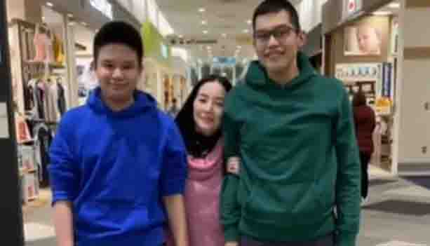 WATCH:  Kris Aquino spends quality time with Joshua and Bimby in Japan