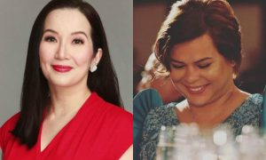 "Kris Aquino says she is no match for Sara Duterte: ""Tapikin lang nya ko- Physically tutumba ako"""