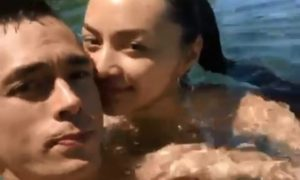 WATCH: Kylie Verzosa and Jake Cuenca get cozy while dipping in the pool