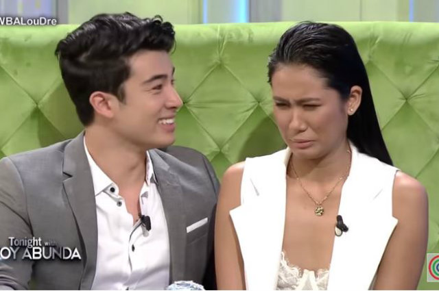 WATCH: Lou Yanong and Andre Brouillette get uncomfortable while watching their controversial kiss