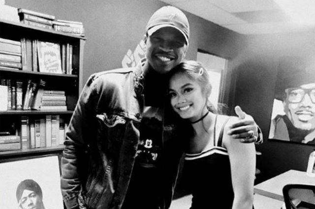 Is Ylona Garcia collaborating with Ne-Yo?