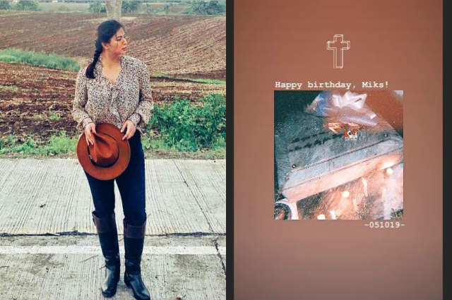 Angel Locsin visits tomb of late ex-boyfriend Miko Sotto on his birthday