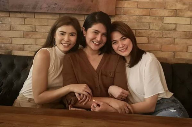 LOOK: Bea Alonzo reunites with 'One More Chance' co-stars Dimples Romana and Bea Saw